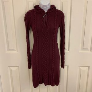 Athleta Cable Knit Sweater Dress. Size XXS.